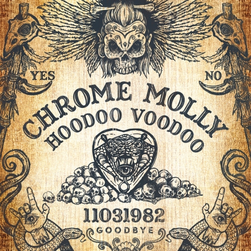 Chrome Molly - Hoodoo Voodoo album artwork, Chrome Molly - Hoodoo Voodoo album cover, Chrome Molly - Hoodoo Voodoo cover artwork, Chrome Molly - Hoodoo Voodoo cd cover