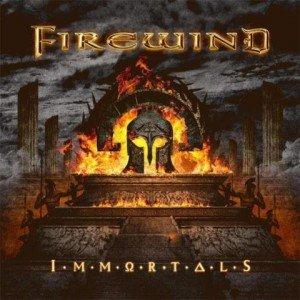 Firewind - Immortals album artwork, Firewind - Immortals album cover, Firewind - Immortals cover artwork, Firewind - Immortals cd cover