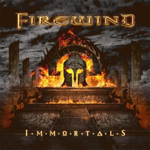 Firewind - Immortals album artwork, Firewind - Immortals album cover, Firewind - Immortals cover artwork, Firewind - Immortals cd cover