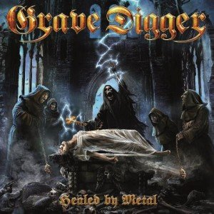 Gave Digger - Healed by Metal album artwork, Gave Digger - Healed by Metal album cover, Gave Digger - Healed by Metal cover artwork, Gave Digger - Healed by Metal cd cover