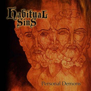 HABITUAL SINS - Personal Demons album artwork, HABITUAL SINS - Personal Demons album cover, HABITUAL SINS - Personal Demons cover artwork, HABITUAL SINS - Personal Demons cd cover