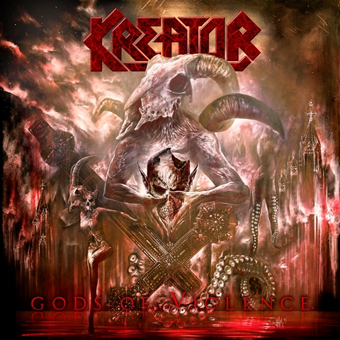 Kreator - Gods Of Violence album artwork, Kreator - Gods Of Violence album cover, Kreator - Gods Of Violence cover artwork, Kreator - Gods Of Violence cd cover, thrash metal, nuclear blast