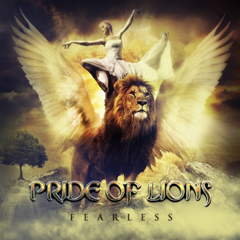 PRIDE OF LIONS - Fearless album artwork, PRIDE OF LIONS - Fearless album cover, PRIDE OF LIONS - Fearless cover artwork, PRIDE OF LIONS - Fearless cd cover