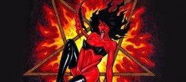 VULGAR DEVILS - Temptress Of The Dark album artwork