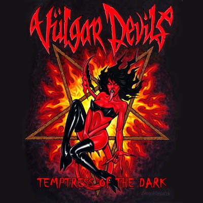VULGAR DEVILS - Temptress Of The Dark album artwork