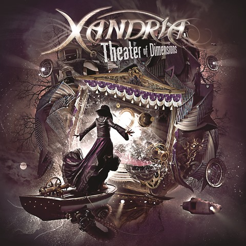 XANDRIA - Theater Of Dimensions album artwork, XANDRIA - Theater Of Dimensions album cover, XANDRIA - Theater Of Dimensions cover artwork, XANDRIA - Theater Of Dimensions cd cover