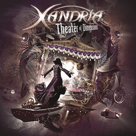 XANDRIA - Theater Of Dimensions album artwork, XANDRIA - Theater Of Dimensions album cover, XANDRIA - Theater Of Dimensions cover artwork, XANDRIA - Theater Of Dimensions cd cover