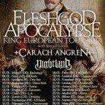 Fleshgod Apocalypse, Carach Angren, Nightland 08.01.17 Explosiv, Graz