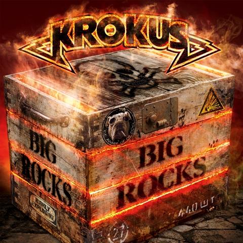 krokus - big rocks album artwork, krokus - big rocks album cover, krokus - big rocks cover artwork, krokus - big rocks cd cover