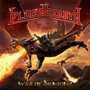 BLOODBOUND - war of dragons album artwork, BLOODBOUND - war of dragons album cover, BLOODBOUND - war of dragons cover artwork, BLOODBOUND - war of dragons cd cover