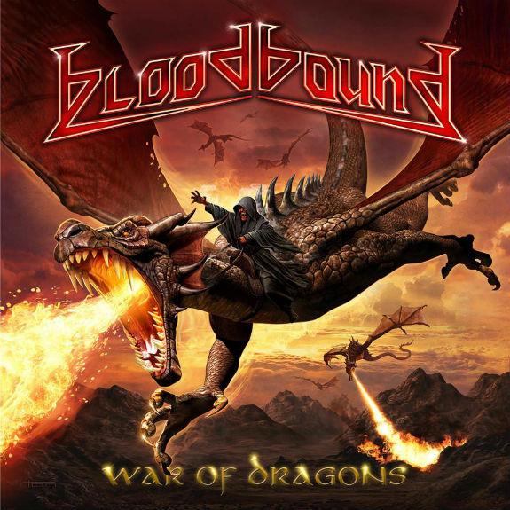 BLOODBOUND - war of dragons album artwork, BLOODBOUND - war of dragons album cover, BLOODBOUND - war of dragons cover artwork, BLOODBOUND - war of dragons cd cover