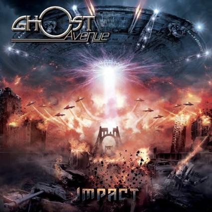 Ghost Avenue - Impact album artwork, Ghost Avenue - Impact album cover, Ghost Avenue - Impact cover artwork, Ghost Avenue - Impact cd cover