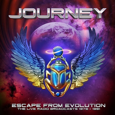Journey - Escape From Evolution The Live Radio Broadcasts 1978 1991 album artwork, Journey - Escape From Evolution The Live Radio Broadcasts 1978 1991 album cover, Journey - Escape From Evolution The Live Radio Broadcasts 1978 1991 cover artwork, Journey - Escape From Evolution The Live Radio Broadcasts 1978 1991 cd cover
