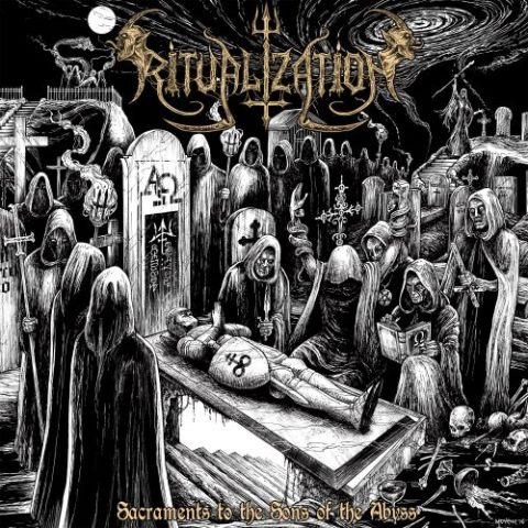 RITUALIZATION - SACRAMENTS TO THE SONS OF THE ABYSS album artwork, RITUALIZATION - SACRAMENTS TO THE SONS OF THE ABYSS album cover, RITUALIZATION - SACRAMENTS TO THE SONS OF THE ABYSS cover artwork, RITUALIZATION - SACRAMENTS TO THE SONS OF THE ABYSS cd cover