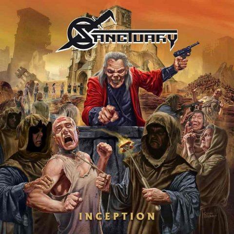 Sanctury - Inception album artwork, Sanctury - Inception cover artwork, Sanctury - Inception album cover, Sanctury - Inception cd cover