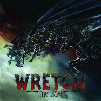 WRETCH - The Hunt album artwork, WRETCH - The Hunt album cover, WRETCH - The Hunt cover artwork, WRETCH - The Hunt cd cover