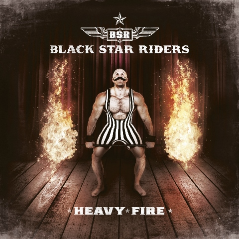 black star riders - heavy fire album artwork, black star riders - heavy fire album cover, black star riders - heavy fire cover artwork, black star riders - heavy fire cd cover