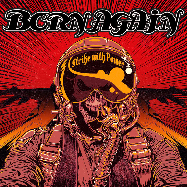 born again - strike with power album artwork, born again - strike with power album cover, born again - strike with power cover artwork, born again - strike with power cd cover, massacre records