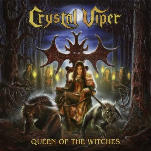 crystal viper - Queen Of The Witches album artwork, crystal viper - Queen Of The Witches album cover, crystal viper - Queen Of The Witches cover artwork, crystal viper - Queen Of The Witches cd cover