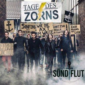 suendflut - TAGE DES ZORNS album artwork, suendflut - TAGE DES ZORNS album cover, suendflut - TAGE DES ZORNS cover artwork, suendflut - TAGE DES ZORNS cd cover