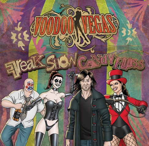 voodoo vegas - Freak Show Candy Floss album artwork, voodoo vegas - Freak Show Candy Floss album cover, voodoo vegas - Freak Show Candy Floss cover artwork, voodoo vegas - Freak Show Candy Floss cd cover