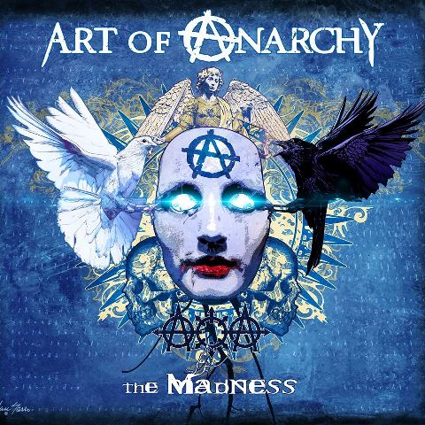 Art Of Anarchy - The Madness album cover, Art Of Anarchy - The Madness cover artwork, Art Of Anarchy - The Madness cd cover