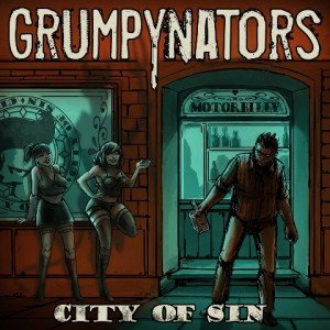 Grumpynators - City Of sin album artwork, Grumpynators - City Of sin album cover, Grumpynators - City Of sin cover artwork, Grumpynators - City Of sin cd cover