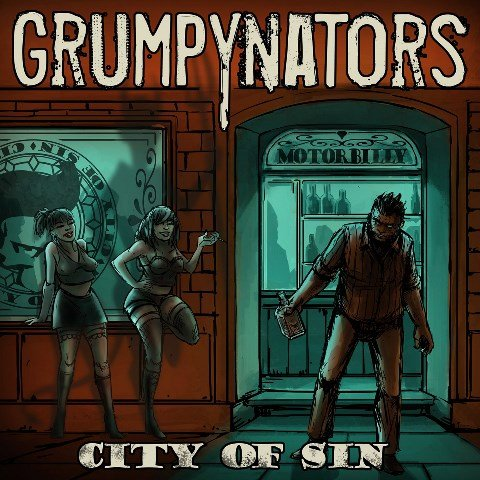 Grumpynators - City Of sin album artwork, Grumpynators - City Of sin album cover, Grumpynators - City Of sin cover artwork, Grumpynators - City Of sin cd cover