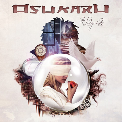 OSUKARU - The Labyrinth album artwork, OSUKARU - The Labyrinth album cover, OSUKARU - The Labyrinth cover artwork, OSUKARU - The Labyrinth cd cover