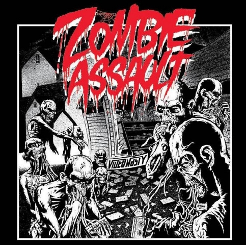 Zombie Assault - Video Nasty album artwork, Zombie Assault - Video Nasty album cover, Zombie Assault - Video Nasty cover artwork, Zombie Assault - Video Nasty cd cover