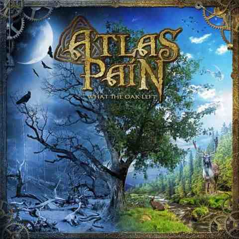 atlas pain - What The Oak left album artwork, atlas pain - What The Oak left album cover, atlas pain - What The Oak left cover artwork, atlas pain - What The Oak left cd cover