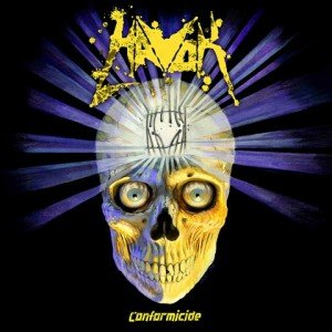 havok - conformicide album artwork, havok - conformicide album cover, havok - conformicide cover artwork, havok - conformicide cd cover