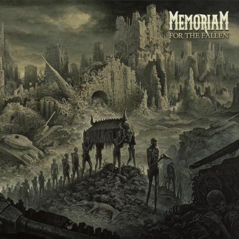 memoriam - For The Fallen album artwork, memoriam - For The Fallen album cover, memoriam - For The Fallen cover artwork, memoriam - For The Fallen cd cover