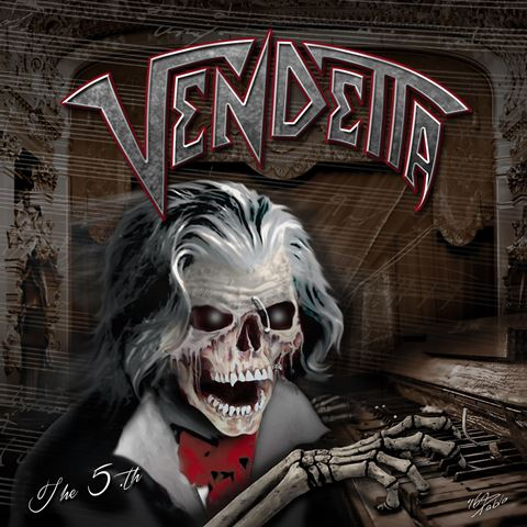 vendetta - the 5th album artwork, vendetta - the 5th cover artwork, vendetta - the 5th album cover, vendetta - the 5th cd cover, thrash metal, massacre records