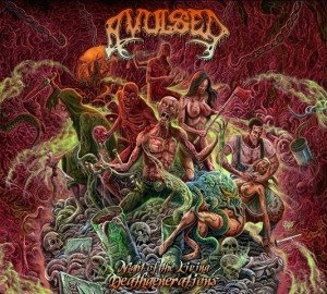 Avulsed - Night of the Living Deathgenerations album artwork, Avulsed - Night of the Living Deathgenerations album cover, Avulsed - Night of the Living Deathgenerations cover artwork, Avulsed - Night of the Living Deathgenerations cd cover