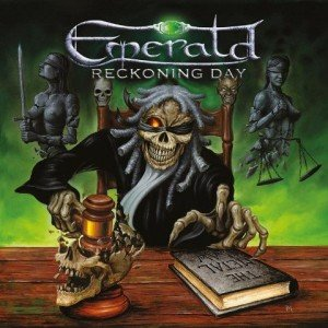 EMERALD - Reckoning Day album artwork, EMERALD - Reckoning Day album cover, EMERALD - Reckoning Day cover artwork, EMERALD - Reckoning Day cd cover
