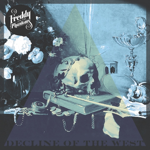 Freddy And The Phantoms - decline of the west album artwork, Freddy And The Phantoms - decline of the west album cover, Freddy And The Phantoms - decline of the west cover artwork, Freddy And The Phantoms - decline of the west cd cover