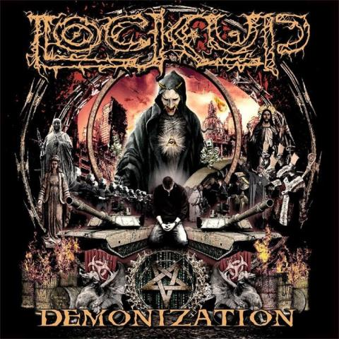 Lock Up - Demonization album artwork, Lock Up - Demonization album cover, Lock Up - Demonization cover artwork, Lock Up - Demonization cd cover