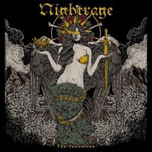 NIGHTRAGE - THE VENOMOUS album artwork, NIGHTRAGE - THE VENOMOUS album cover, NIGHTRAGE - THE VENOMOUS cover artwork, NIGHTRAGE - THE VENOMOUS cd cover