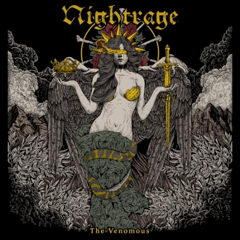 NIGHTRAGE - THE VENOMOUS album artwork, NIGHTRAGE - THE VENOMOUS album cover, NIGHTRAGE - THE VENOMOUS cover artwork, NIGHTRAGE - THE VENOMOUS cd cover