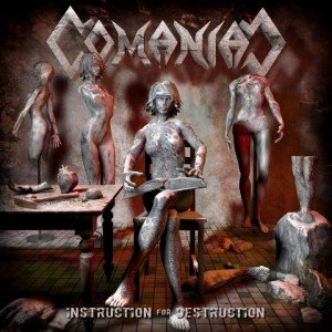 comaniac - instruction for destruction album artwork, comaniac - instruction for destruction album cover, comaniac - instruction for destruction cover artwork, comaniac - instruction for destruction cd cover