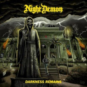 night demon - Darkness Remains album artwork, night demon - Darkness Remains album cover, night demon - Darkness Remains cover artwork, night demon - Darkness Remains cd cover