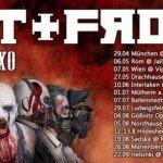 Ost+Front, Krankheit, Tides Awaking 29.04.17 Garage Deluxe, München