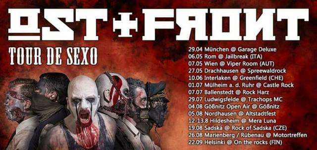 ostfront tourflyer 2017, ostfront tour flyer 2017