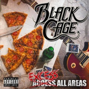 BLACK CAGE - Excess All Areas album artwork, BLACK CAGE - Excess All Areas album cover, BLACK CAGE - Excess All Areas cover artwork, BLACK CAGE - Excess All Areas cd cover