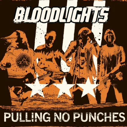 BLOODLIGHTS - Pulling No Punches album artwork, BLOODLIGHTS - Pulling No Punches album cover, BLOODLIGHTS - Pulling No Punches cover artwork, BLOODLIGHTS - Pulling No Punches cd cover