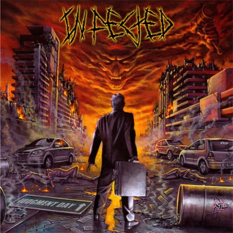 Infected - judgement day album artwork, Infected - judgement day album cover, Infected - judgement day cover artwork, Infected - judgement day cd cover