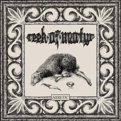 REEK OF MARTYR - HERETIC album artwork, REEK OF MARTYR - HERETIC album cover, REEK OF MARTYR - HERETIC cover artwork, REEK OF MARTYR - HERETIC cd cover