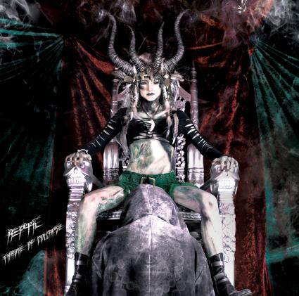 REPTIL - Throne Of Collapse album cover, REPTIL - Throne Of Collapse album artwork, REPTIL - Throne Of Collapse cover artwork, REPTIL - Throne Of Collapse cd cover