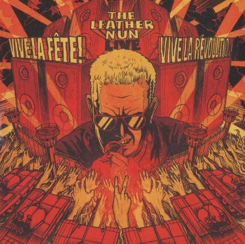 THE LEATHER NUN - Vive la fete Vive la revolution album artwork, THE LEATHER NUN - Vive la fete Vive la revolution album cover, THE LEATHER NUN - Vive la fete Vive la revolution cover artwork, THE LEATHER NUN - Vive la fete Vive la revolution cd cover